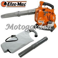 Soffiatore aspiratore Oleo Mac BV300 con coltello trituratore raccolta foglie