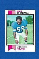 1973 TOPPS FOOTBALL #65 ISIAH ROBERTSON NM LOS ANGELES RAMS