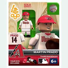 MLB Arizona Diamondbacks Martin Prado Generation 3 Toy Figure NEW Toys Baseball