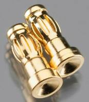 Duratrax DTXC2305 Gold Plated Bullet Connector Male 3.5mm (2)
