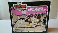 VINTAGE 80'S STAR WARS EMPIRE STRIKES BACK PINK  BOX SNOWSPEEDER 100% COMPLETE