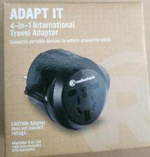 Radio Shack 4-in-1 International Travel Adapter New