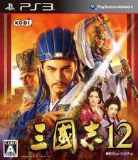 PS3 Romance of the Three Kingdoms 12 Sangokushi Japan PlayStation 3 F/S