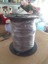 18/5 BROWN THERMOSTAT WIRE 250FT SPOOL PARTIALLY USED.