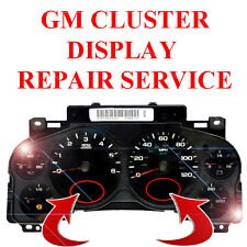 CHEVY & GMC 2007-2013 Instrument Cluster Speedometer LCD Screen Display Repair