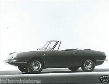 FIAT 850 SPORT SPIDER BERTONE ORIGINALE FOTOGRAFIA intorno al 1968