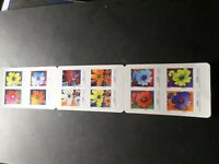 FRANCE 2020, CARNET timbres AUTOADHESIFS FLEURS COSMOS, ART COUPRIE neuf**, MNH