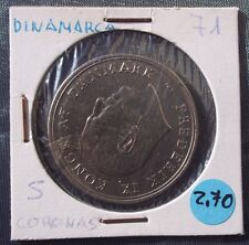 MONEDAS DEL MUNDO Dinamarca 1971 5 Coronas