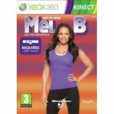 Microsoft XBOX 360 GIOCO GET FIT WITH MEL B Kinect Richiesto Nuovo