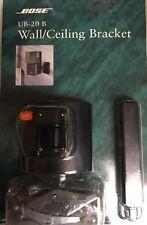 Bose UB-20 B UB-20B BLACK Wall/Ceiling Bracket