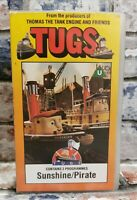 TUGS Sunshine/Pirate From the producers of Thomas the tank Engine VHS Video TBLO