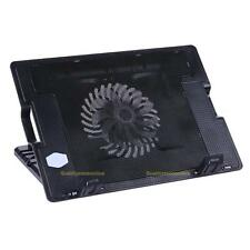 "Adjustable Stand 2 USB Cooling Cooler Pad Fan Holder F 14-17"" PC Laptop Notebook"