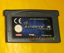 WWE SURVIVOR SERIES Game Boy Advance Gba Versione Inglese ○○ SOLO CARTUCCIA - AQ