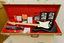 Used 1989 USA Fender Eric Clapton Signature Stratocaster 'Blackie' Guitar OHSC