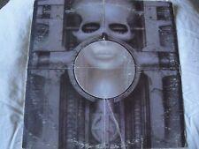 EMERSON, LAKE & PALMER BRAIN SALAD SURGERY VINYL LP 1973 MANTICORE RECORDS EX