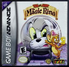 Gba Tom y Jerry El Anillo Mágico (2002) Nuevo Y Sellado De Fábrica