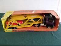 Ertl International Transtar Truck & Car Carrier