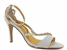 Thalia Sodi Women's MarISOl Dress Sandals White Snake Print Size 7.5 M