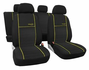 UNIVERSAL SEAT COVERS SET for SUZUKI CELERIO IGNIS BALENO SWIFT SX4