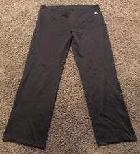Adidas Climalite Packable Pants Mens Size Large Black Performance