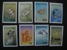 Comoros  1999  marine life   SCOTT No.878-885 I201807