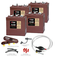 Trojan T-105 24V System with HydroLink Watering Kit & Hand Pump Combo