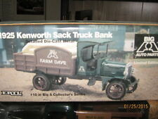 "1994 ERTL 1925 KENWORTH SACK TRUCK BANK, BIG ""A"" AUTO PARTS-FREE SHIPPING"