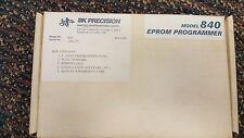 BK Precision Model 840 1-Gang Eprom Programmer