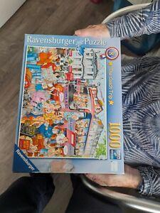 RAVENSBURGER Puzzle 1000piecesThe Coach Trip  PREMIUM PUZZLE SOFT CLICK TECH