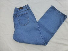 WOMENS LEE RELAXED STRAIGHT LEG JEANS SIZE 18x28 #W1689