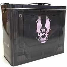 HALO 5 GUARDIANS Tin Metal Box Ammo Tin Lunch Box. New Loot Crate Exclusive