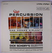 DICK SCHORY: Wild Percussion LP Easy Listening