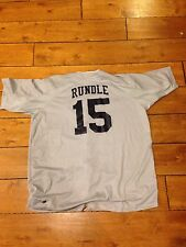 Drew Rundle 2005 Aflac Baseball Game Used Worn Jersey