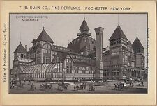 Victorian Trade Card-T B Dunn Co-Rochester, NY-Exposition Building-Milwaukee, WI