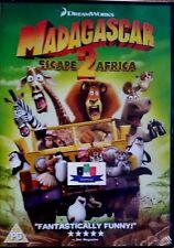 Madagascar - Escape 2 Africa (Ben Stiller) DVD 2009 New And Sealed