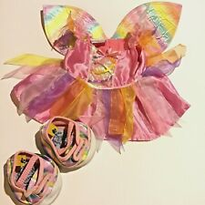 Build A Bear Clothes Pink Rainbow Butterfly Outfit With Matching Shoes
