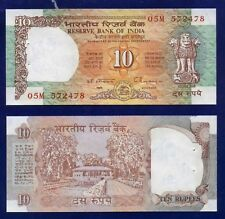 INDIA 10 RUPEES 1992 P88 RESERVE BANK OF INDIA AUNC (W/STAPLE HOLE) EU-4