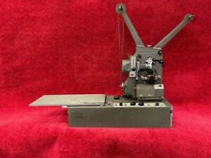 16mm VICTOR Model 1600 Arc/Xenon Projector Mechanism with Tube Amplifier