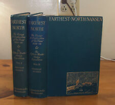 Farthest North. Nansen. Archibald Constable, 1897. First edition. Two volumes.
