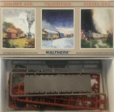 WALTHERS 54' GSC FLAT CAR BURLINGTON HO SCALE BRAND NEW