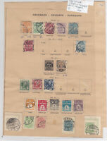 Denmark Early Stamps on 2 Pages Ref: R7263