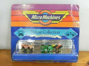 MICRO MACHINES DELUXE COLLECTION JOCSA GALOOB 1990 MINT