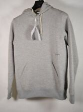 Soulland Wallance Logo Hoody Light Gray Mens M NWT