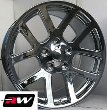 "20 x9"" Dodge Ram 1500 OE Factory Replica SRT-10 Chrome Wheels Rims SRT10 5x5.50"