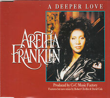 ARETHA FRANKLIN - A Deeper Love - 1994 4 Track CD