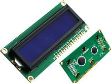 1602 LCD Character Display HD44780 2X16 Zeichen blau Rücklicht für Arduino STM32