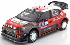 Citroen C3 WRC #7 Rally Vincitore Messico 2017 Meeke Nagle 1 18 Norev