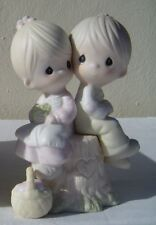 New Nib Love One Another A Jonathan & David Precious Moments Figurine E-1376