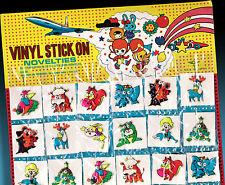 3d pegatinas klebetiere funny zoo sticker Ojodebuey made in Japan 70er vinilo