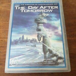 The Day After Tomorrow DVD R4 Like New! FREE POST